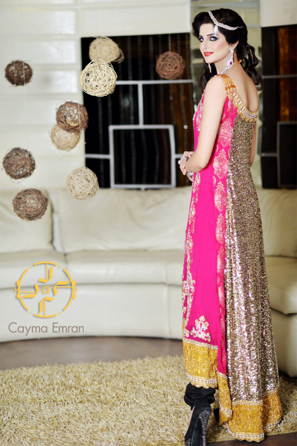 Women Party Wear Dresses By Cayma Emran Is The Name Of Collection