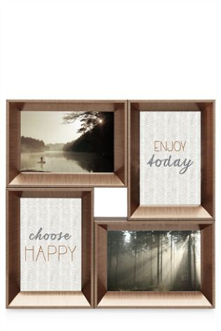Buy 8 Aperture Copper Effect Collage Frame from the Next UK online
