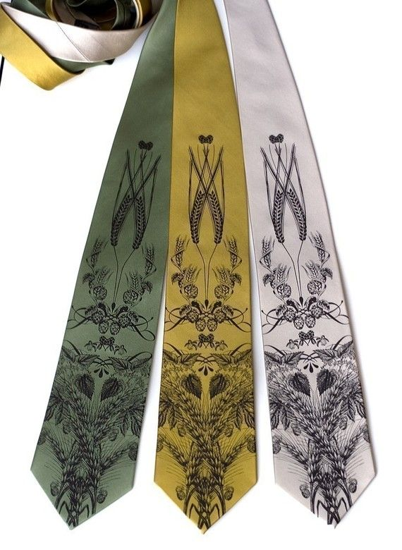 These ties are sweet!