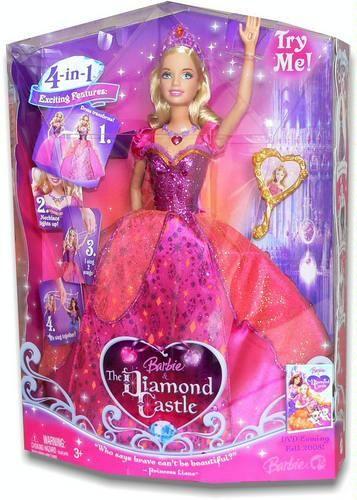 Amazon Com Barbie The Diamond Castle Princess Liana Doll Toys