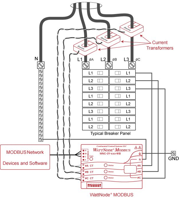 3 Phase Electric Panel Diagrams - Wiring Source •
