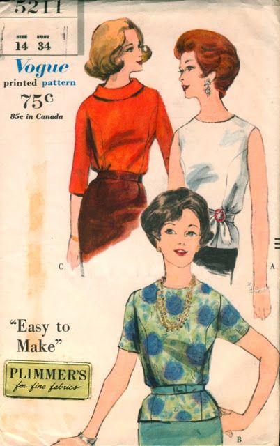 Vogue 5211 1961.
