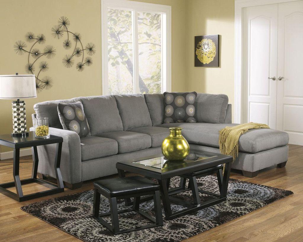Zella Charcoal Sectional U2013 Wichita Furniture