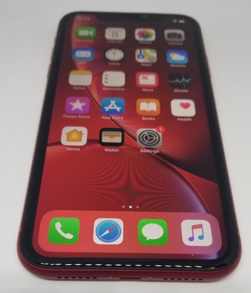 Apple Iphone Xr Red 256gb Verizon A1984 Cdma Apple Warranty