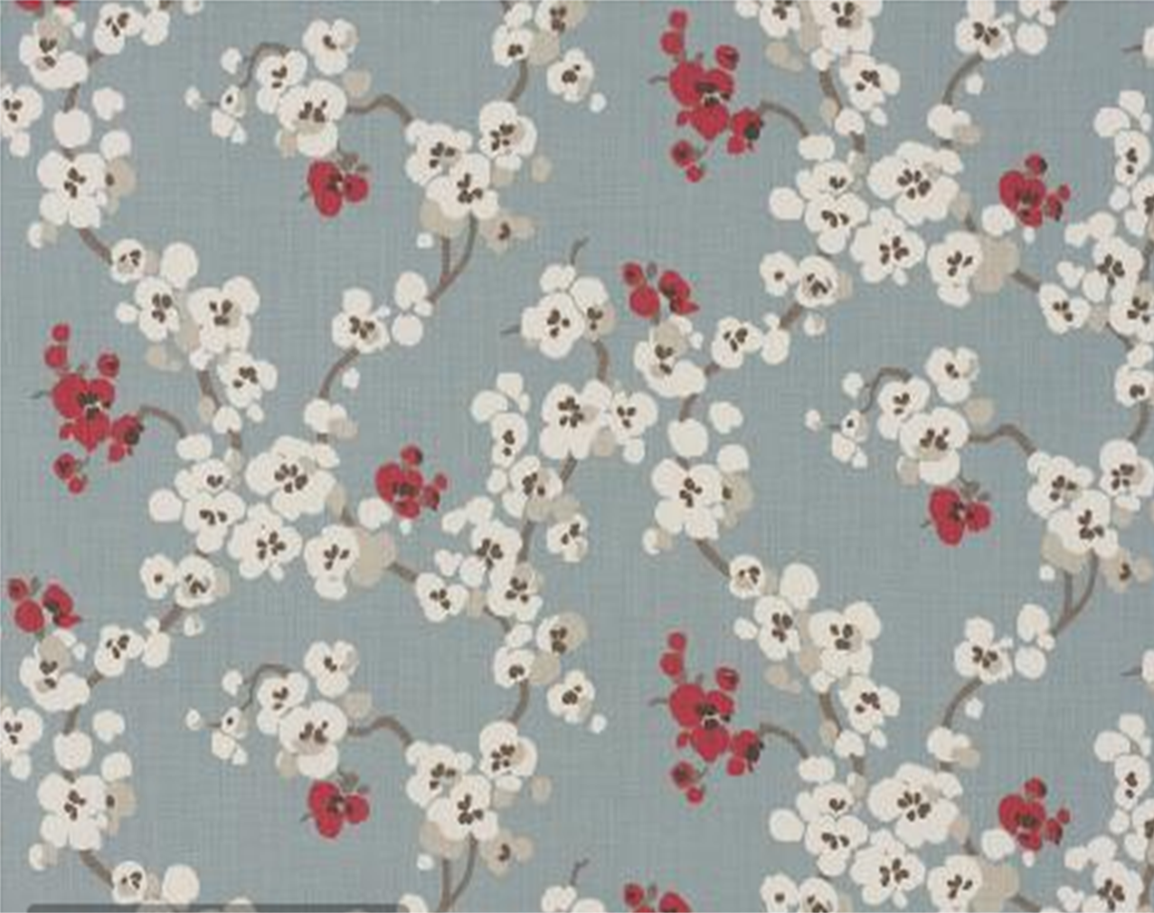 floral print fabrics from the UK Romo fabrics have the