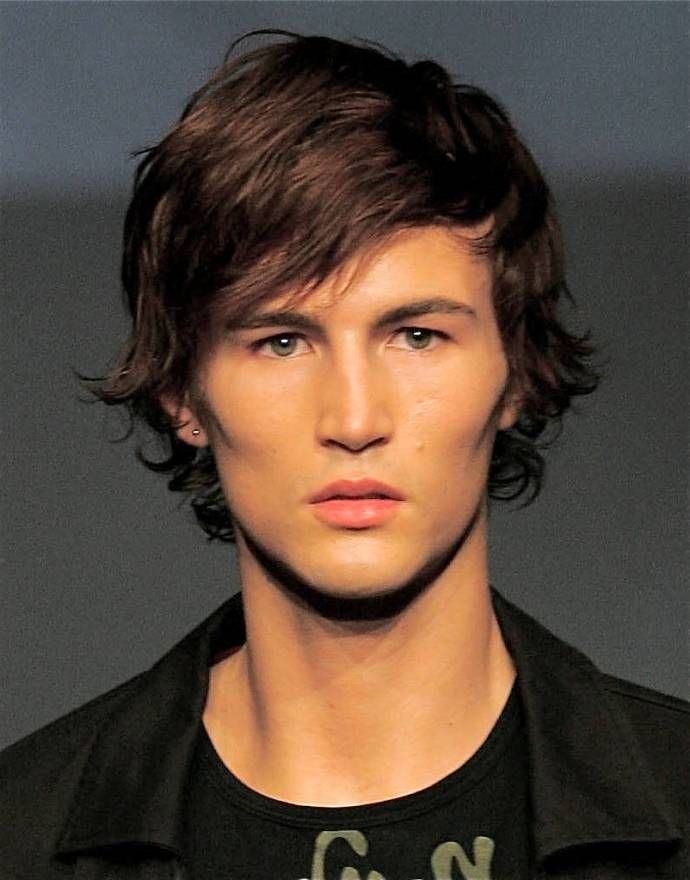 Medium Length Hairstyles For Naturally Wavy Hair : Boys long hairstyles google search hayden pinterest boys