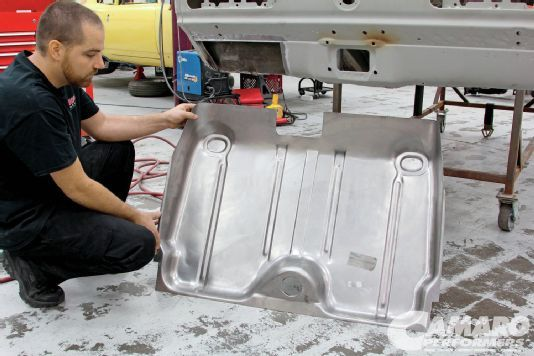 How To Replace The Trunk Floor Camaro Flooring Gas Monkey