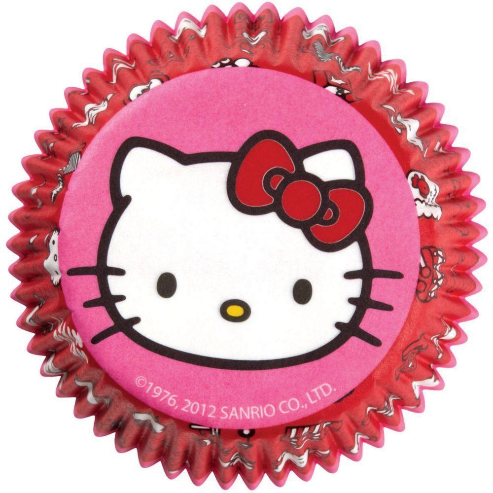 Hello Kitty Baking Cups   50ct