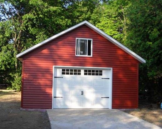 Cabanon Garage Préfabriqué à Québec Pinterest