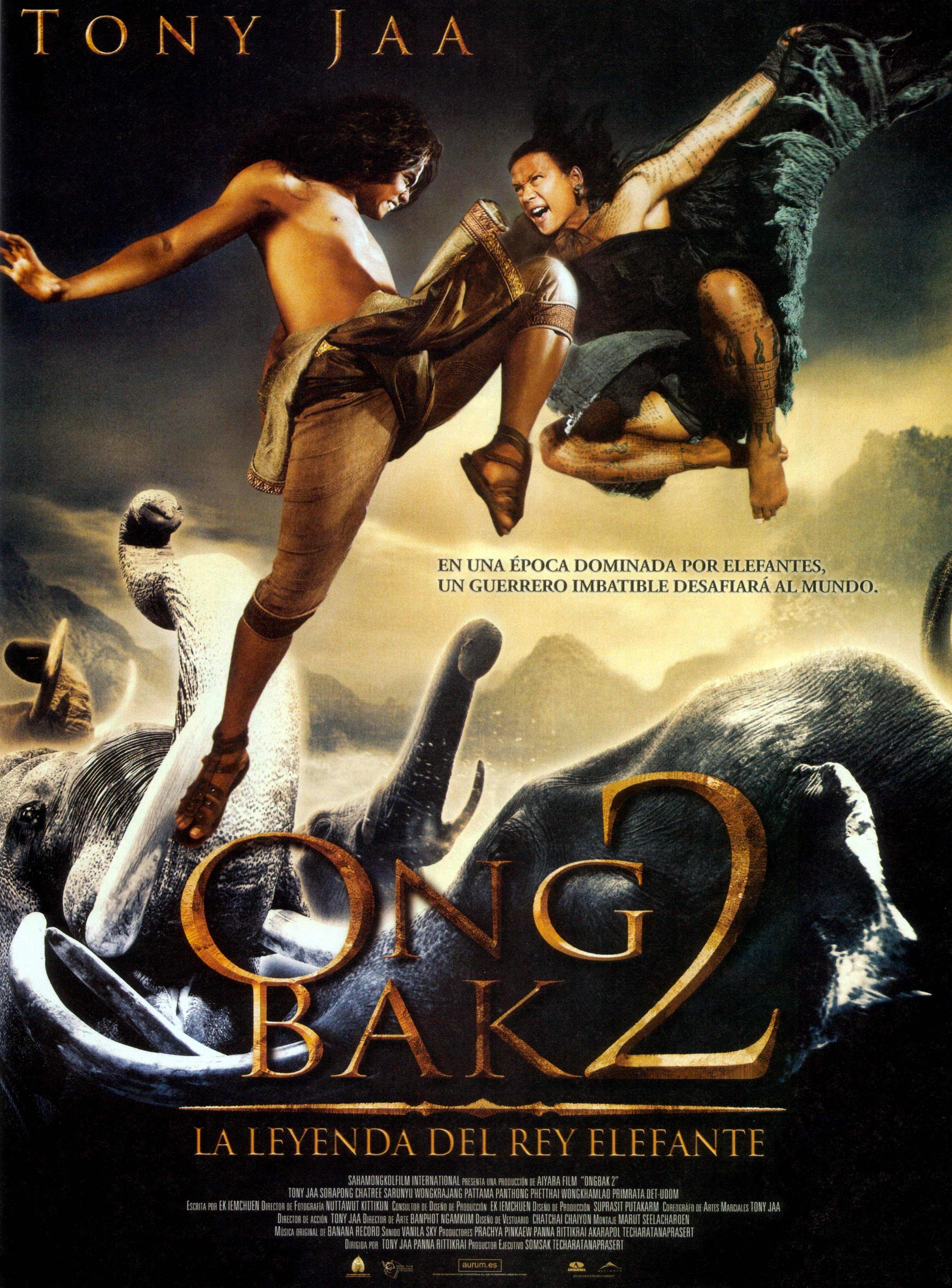 Ong Bak 2 La Leyenda Del Rey Elefante Martial Art Movies Movies