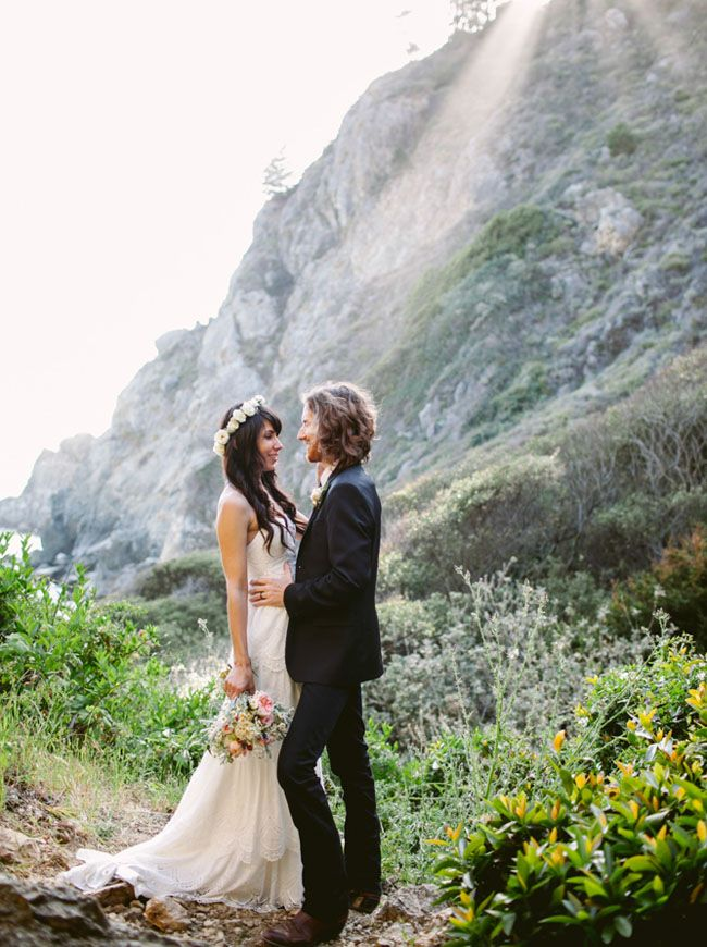 Intimate Big Sur elopement