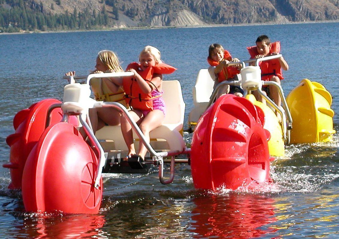 Lake James Camping Resort & Marina Aqua Cycles have