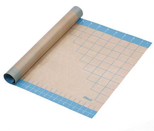 Dltsli Silicone Pastry Mat With Measurements 36 X 24 Full Sticks