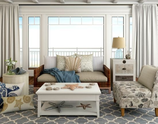 Beach Themed Living Room On A Budget Awesome Home