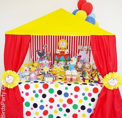 Ideas caseras para una fiesta de payasos fiesta payasos - Ideas fiesta cumpleanos infantil ...