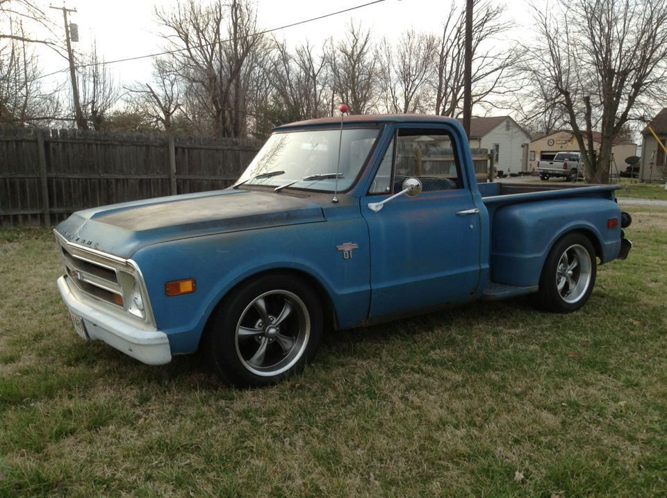 Mike Autry S Blue 1968 C10 Stepside Customers Trucks
