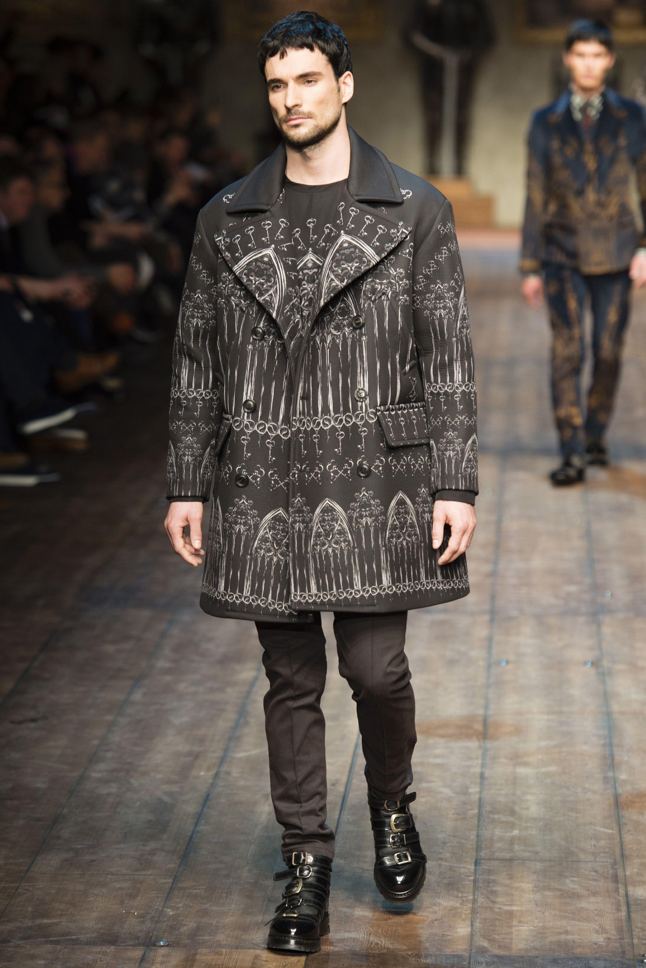 Dolce & Gabbana - Men Fashion Fall Winter 2014-15 - Shows - Vogue.it