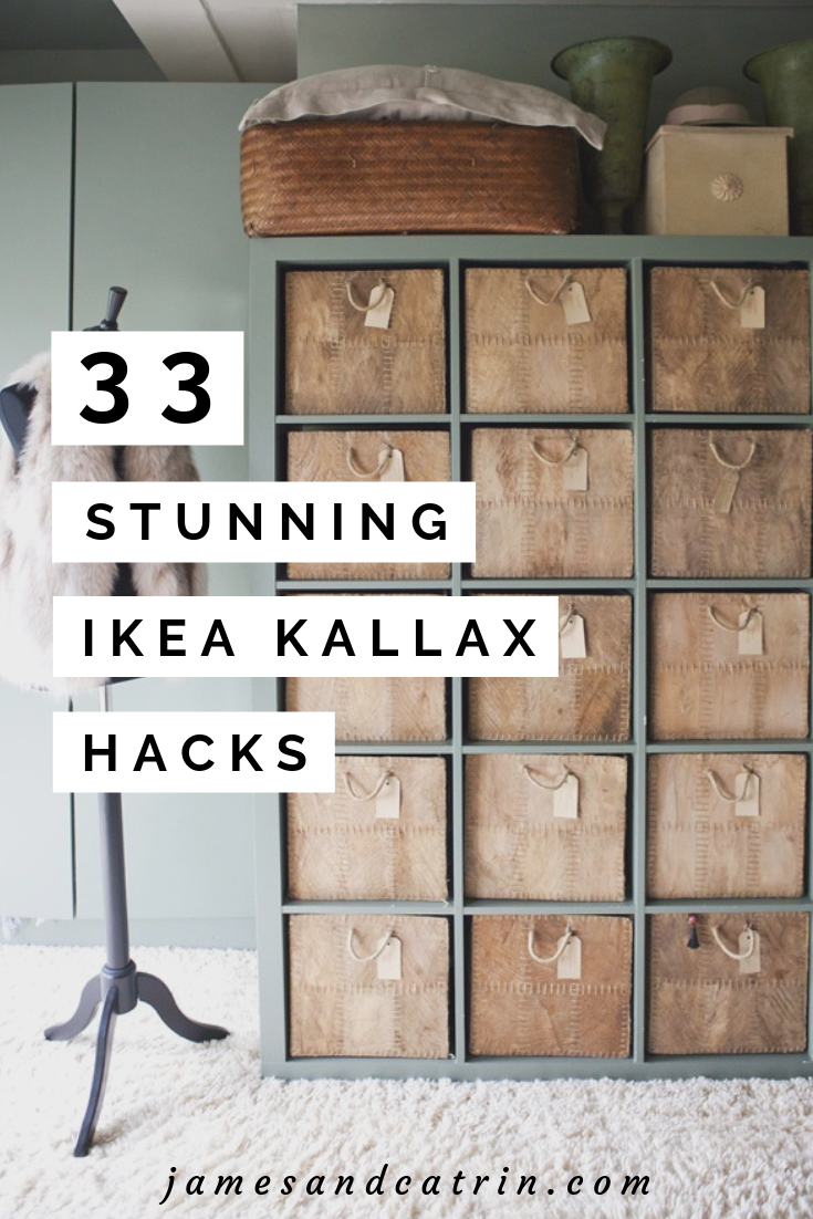 Photo of 33 Beautiful Ikea Kallax Hack Concepts you Must See