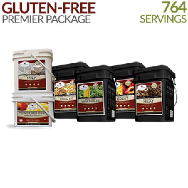 Gluten-free Premier Long-Term Food Storage   Wise Food Storage.  sc 1 st  Pinterest & $759.99. Gluten-free Premier Long-Term Food Storage   Wise Food ...