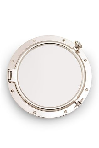 Buy Porthole Style Chrome Mirror from the Next UK online shop