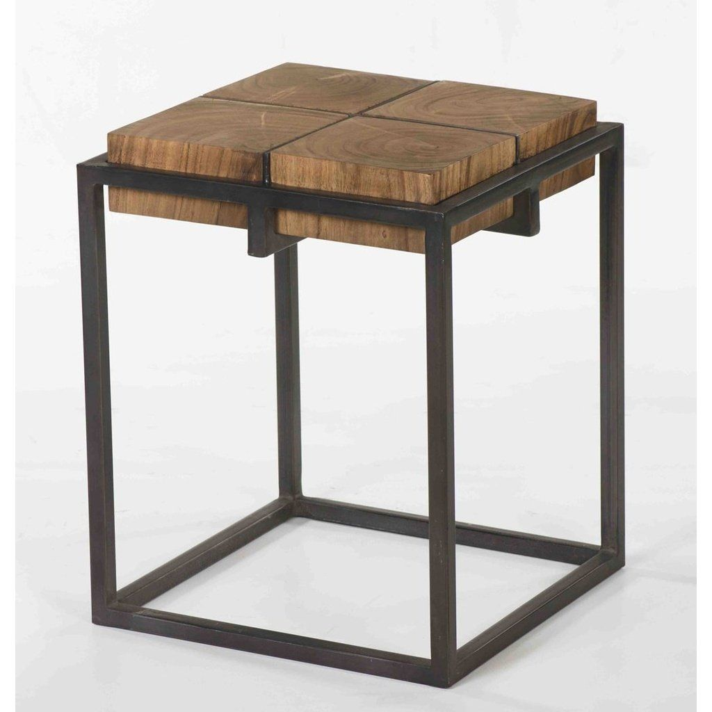 Haylie Side Table Side Table Industrial Side Table Marble Top Side Table [ 1024 x 1024 Pixel ]