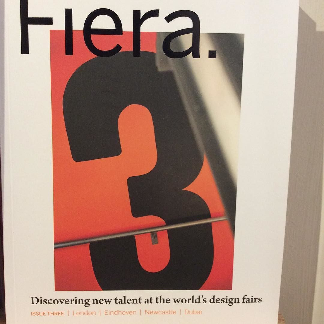 We love @fieramagazine. It surveys new design talent from around the world but it's an exquisitely fashioned thing itself. Well worth exploring. #design #fair #show #novocastrian #intern #brand #trend #stand #display