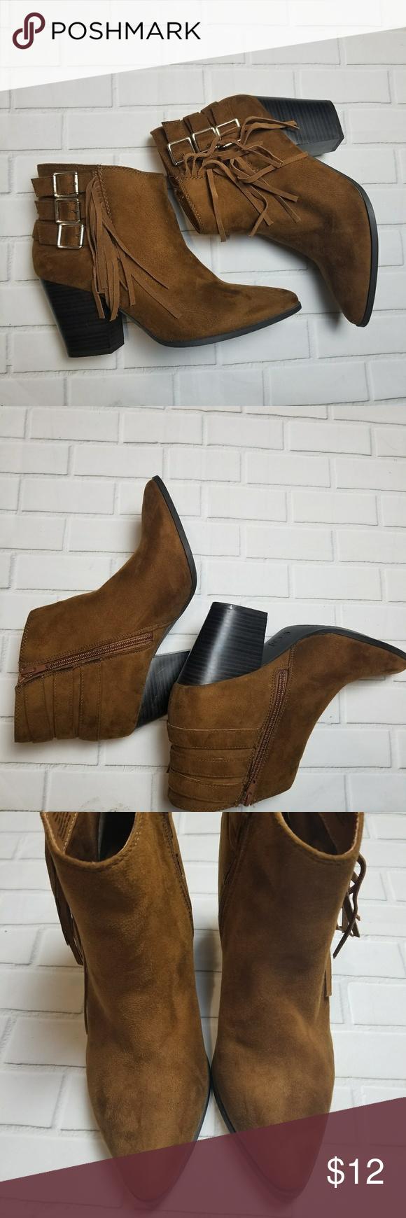 Jennifer Lopez Jlo Cognac Heel Boots 10m Heeled Boots Boots Cognac Heels