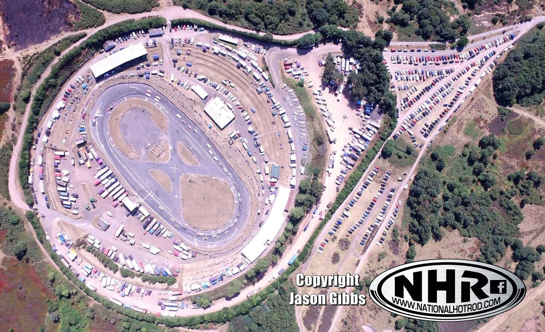Ariel view of Hednesford Raceway | plaztic carz | Racing