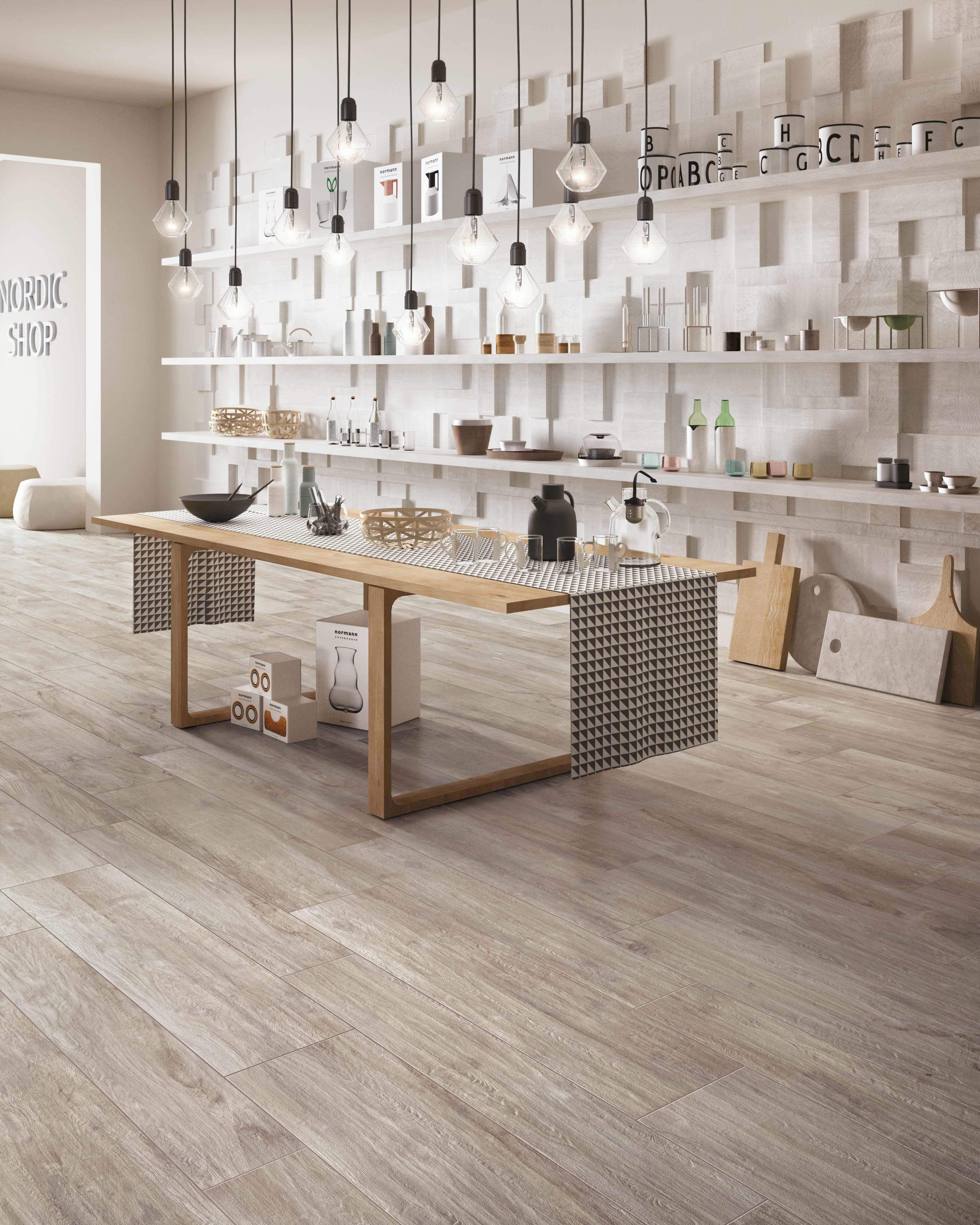 Torino Italian Porcelain Tile Fence Wood Timber Tiles
