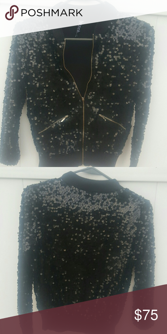 a2cd11d04c2 Black sequin jacket