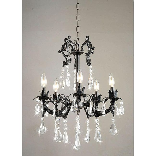 Love this for my paris theme find one at a second hand store to chandeliers for less aloadofball Choice Image