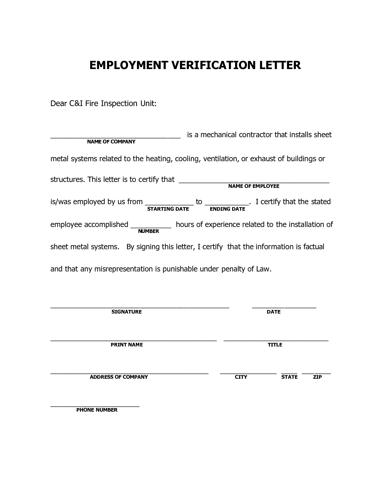 Letter Sample Residence Certification For Payment Salary