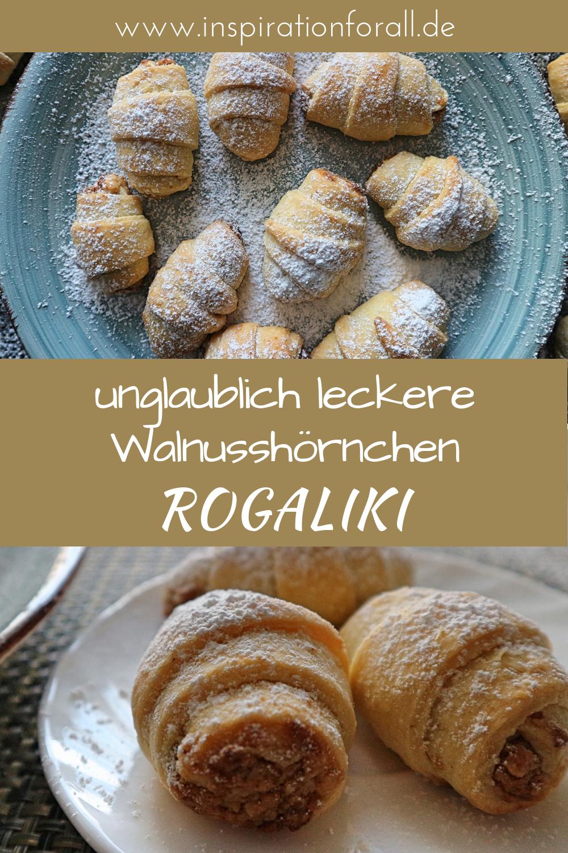 Photo of Rogaliki – oppskrift på utrolig velsmakende valnøtt-croissanter