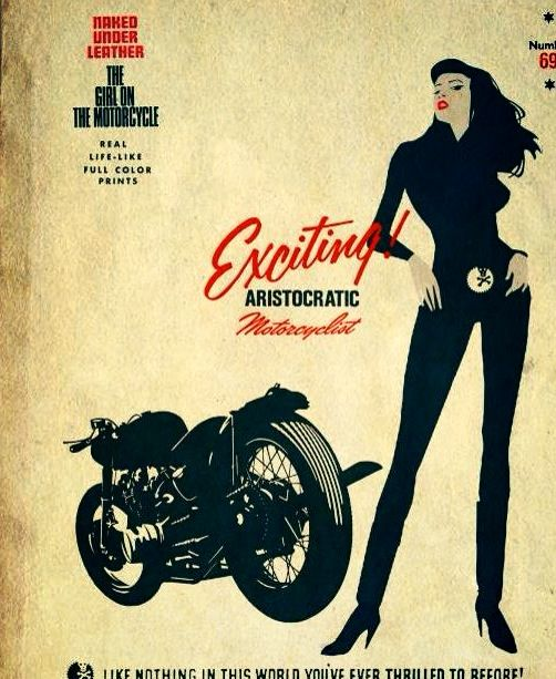 CAFE RACER CULTURE: Aristocratic motorcyclist