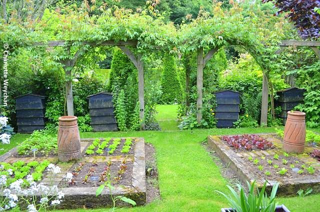 Just one of many gardens at Barnsdale in Rutland, immortalised by ...
