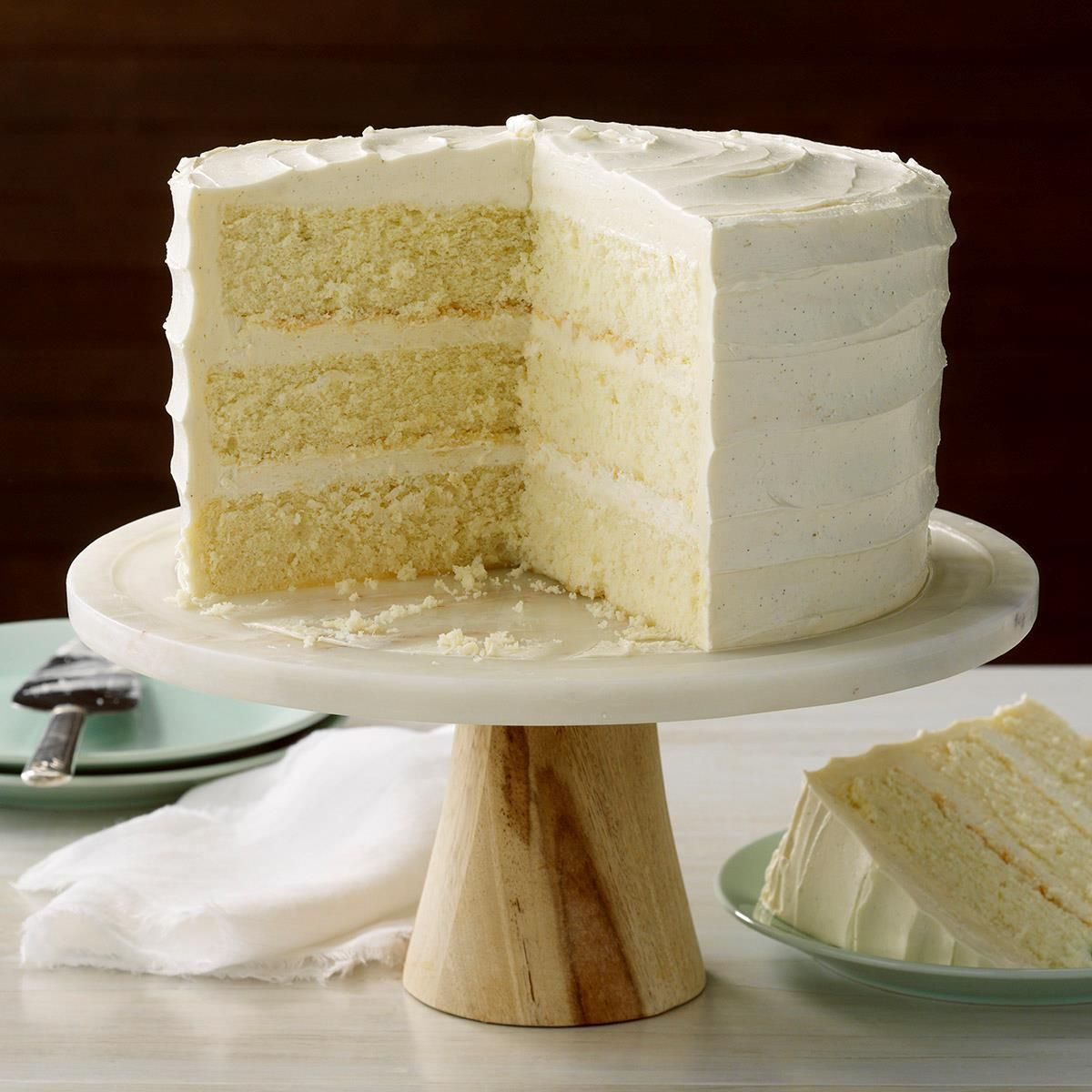 Best Vanilla Cake Recipe Taste Of Home In 2020 Best Vanilla Cake Recipe Vanilla Cake Cake