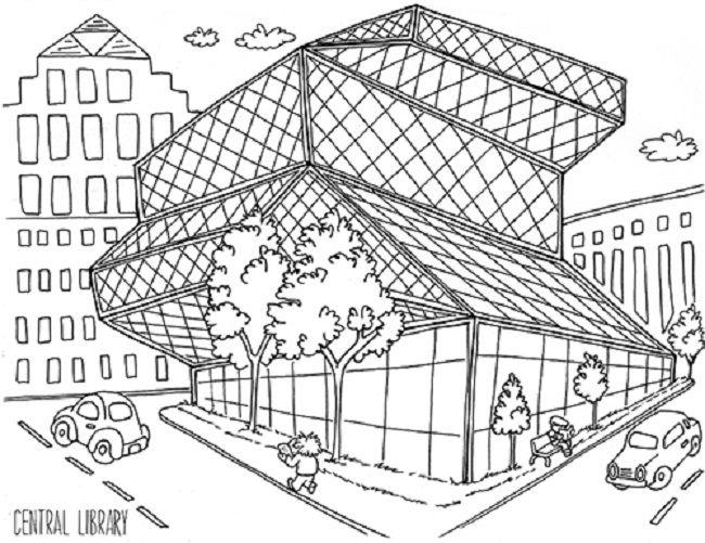 central park coloring pages | coloring Pages | Pinterest
