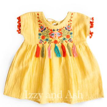 c867670c3 Yellow Dried Flowers Dress