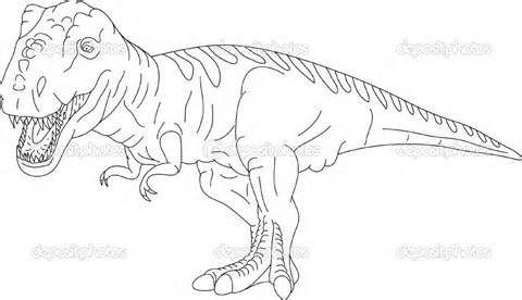 Imprimer Le Coloriage T Rex Numéro 339470 Dinosaure