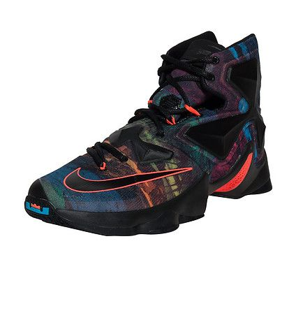 NIKE LeBron James Brand new LeBron XIII silhouette High top sneaker Lace up  closure All-over mesh ov.