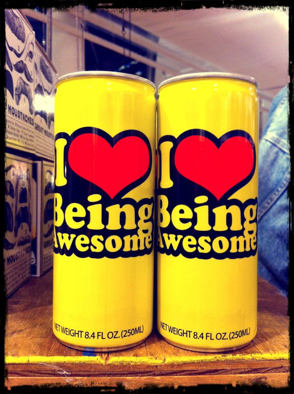 DAILY ESSENTIAL: I LOVE BEING AWESOME! | bevogued blog