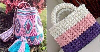 18 ideas para hacer bolsas de ganchillo  – Bolsa de moda
