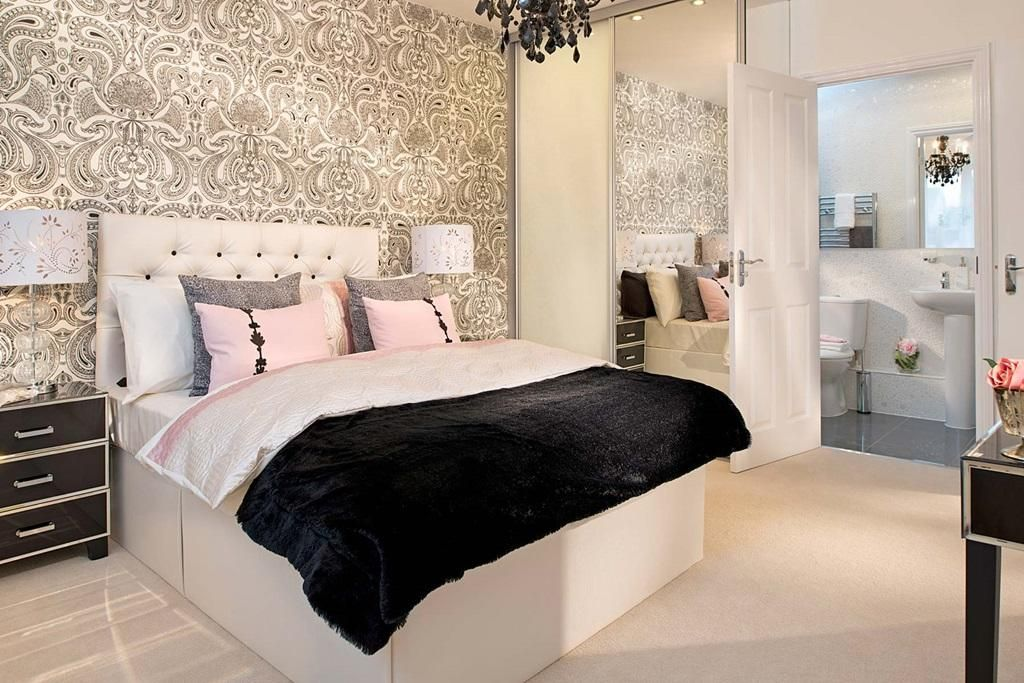 taylor wimpey show home bedroom - Google Search