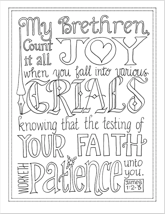 Dozens of free Scripture-based coloring pages from