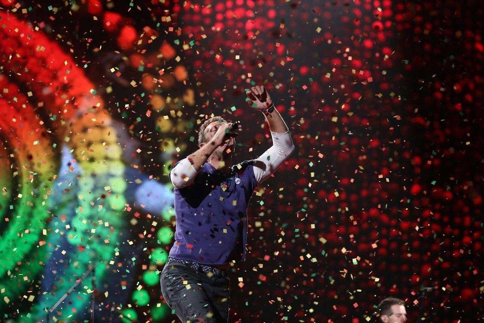 Coldplay Faz Show Especial Com Musica Nova E Diz Que Escolheu Sp