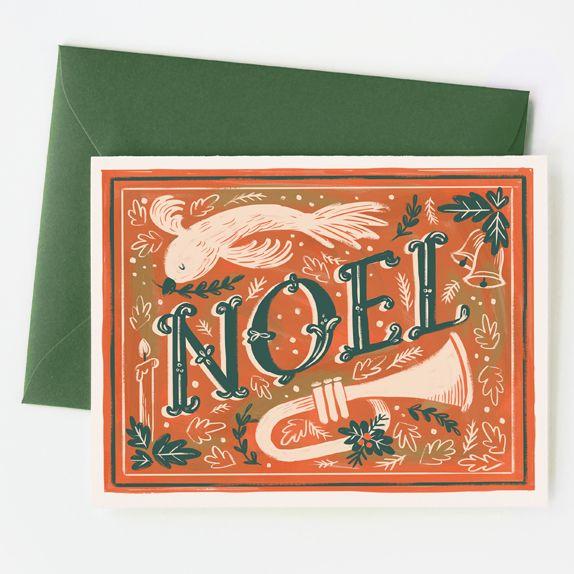 Noel Card / Quill & Fox