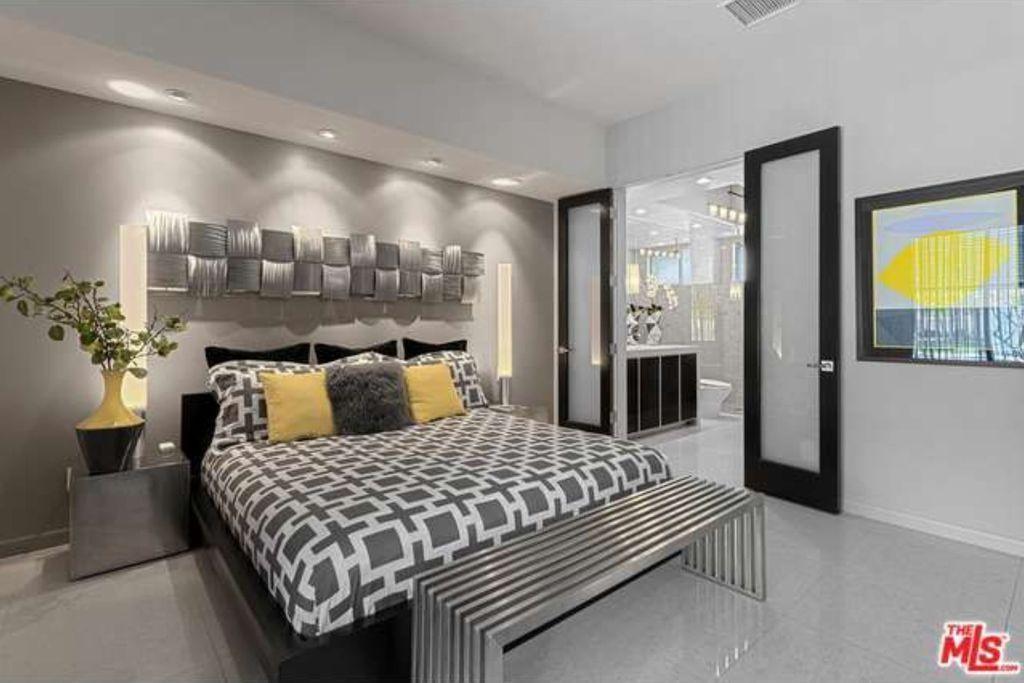 Image result for modern master bedroom with bathroom design