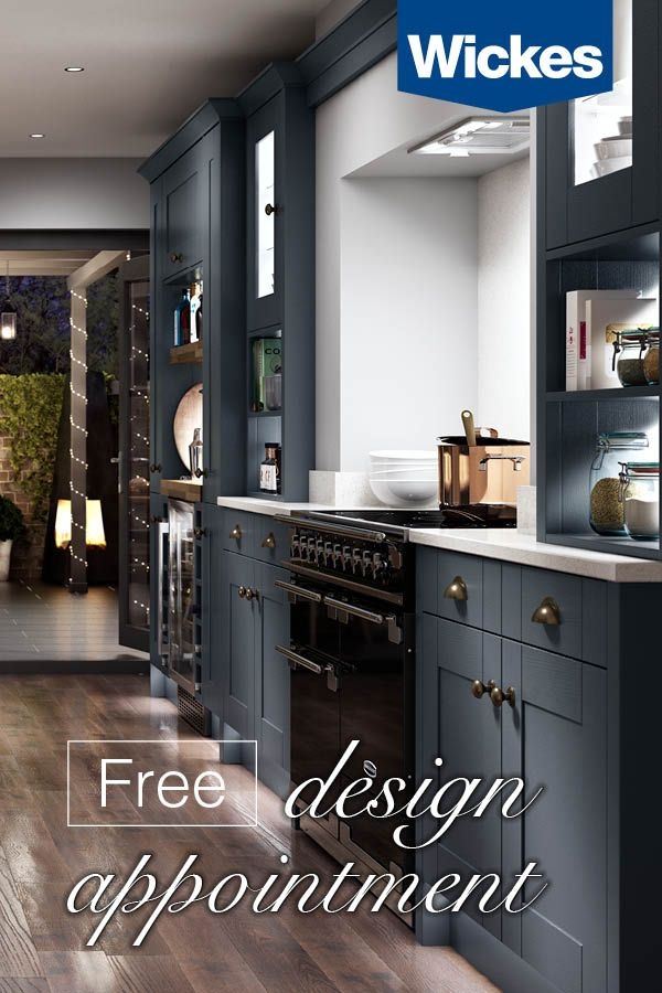 Book Your Free Design Appointment At Wickes Today With A Wide Range Of Stunning Kitchens Bathrooms To Choose F Home Kitchens Cottage Kitchens Kitchen Fittings