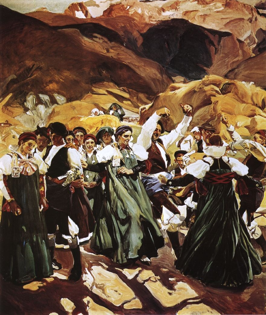 Aragon, La Jota - Joaquin Sorolla (With images) | Spanish art ...