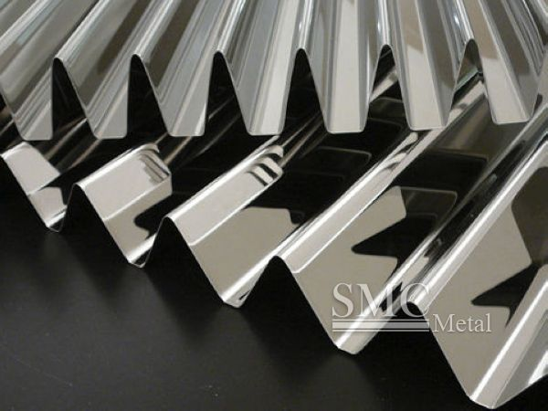 Stainless Steel Corrugated Sheet China Stainless Steel Corrugated Sheet For Sale Stainless Steel Corrugate Metal Facade Metal Cladding Stainless Steel Panels